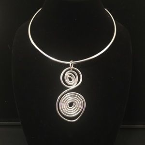Handcrafted Aluminum Necklace